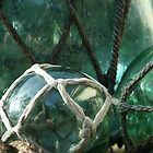 Old glass bouys by Jodie Doyle