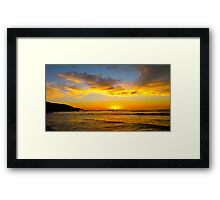 A night of pleasure... Framed Print