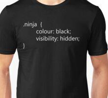 Teevolution :: HTML Ninja Code Unisex T-Shirt