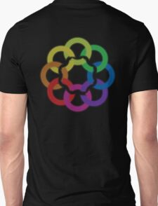 rainbow flower Unisex T-Shirt
