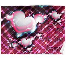 Love Forever Card Poster