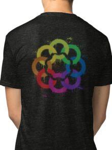 graffiti rainbow flower Tri-blend T-Shirt