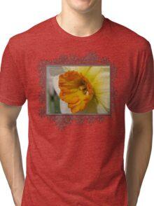 Small-Cupped Daffodil named Barrett Browning Tri-blend T-Shirt