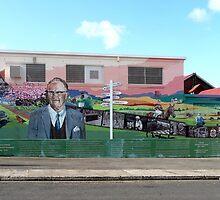 Tribute to Doctor Sender, Sheffield, Tasmania by Margaret  Hyde