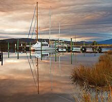 Wooden Boat School, Franklin Tasmania #3 by Chris Cobern