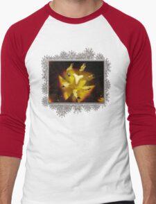 Triumph Tulip named Gavota Men's Baseball ¾ T-Shirt