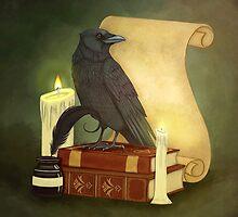 The Crow's Studies by CatsCraft