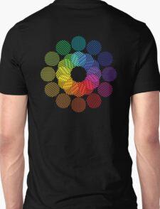 two tone colour wheel T-Shirt