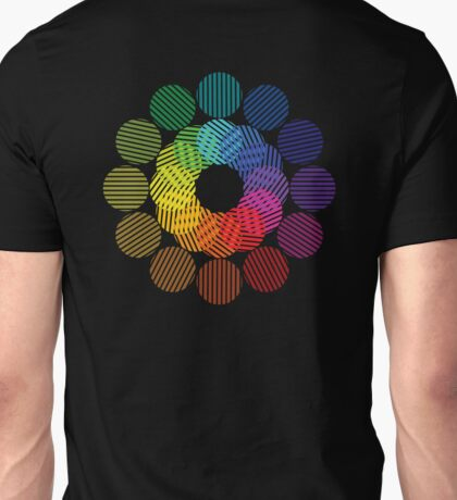 two tone colour wheel Unisex T-Shirt