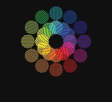 two tone colour wheel Unisex T-Shirt