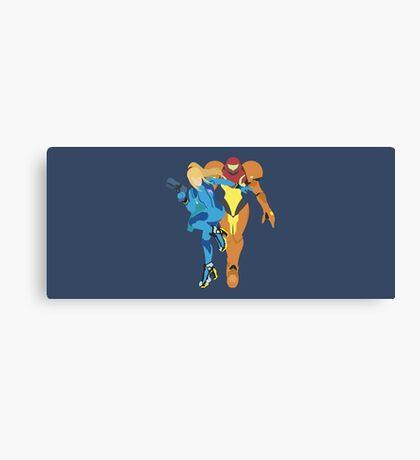 Samus Aran - Super Smash Bros. Canvas Print