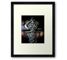 Please to meet you Framed Print