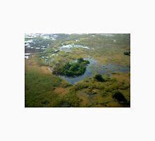 Aerial over Okavango Delta (1) Unisex T-Shirt