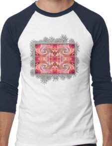 Valley Porcupine Abstract Men's Baseball ¾ T-Shirt