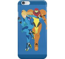Samus Aran (Light Blue) - Super Smash Bros. iPhone Case/Skin