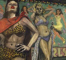 Side Show Gals by WoolleyWorld