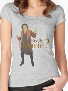 Rumplestiltskin - Really Dearie? Women's Fitted Scoop T-Shirt