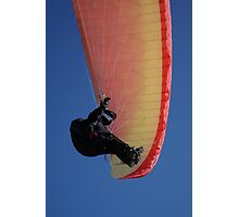 Soaring on a Flexed Wing Photographic Print