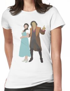 Rumbelle - Once Upon a Time Womens Fitted T-Shirt