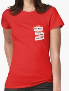 Indigo Montoya Womens Fitted T-Shirt