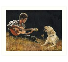 Sing Along Art Print