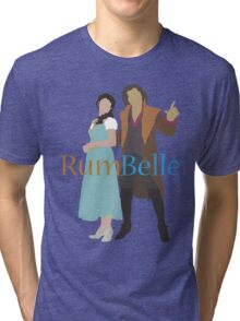 Rumbelle - Once Upon a Time Tri-blend T-Shirt