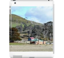 sheep farming , Bothwell, Tasmania, Australia iPad Case/Skin