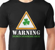 Drunken Shenanigans St. Patrick's Day Shirt Unisex T-Shirt