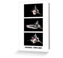 Colonial Viper MkII Greeting Card