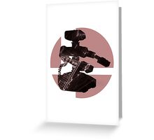 Sm4sh - R.O.B. Greeting Card