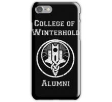 College of Winterhold Alumni iPhone Case/Skin