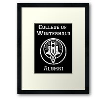 College of Winterhold Alumni Framed Print
