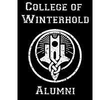 College of Winterhold Alumni Photographic Print