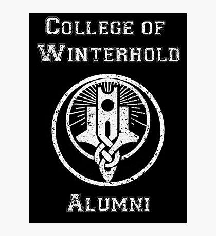 College of Winterhold Alumni Photographic Print