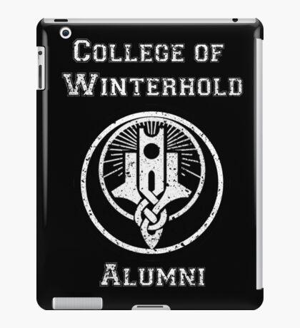 College of Winterhold Alumni iPad Case/Skin