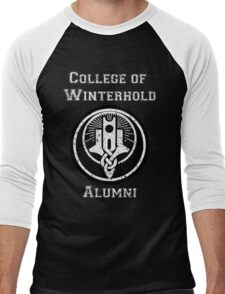 College of Winterhold Alumni Men's Baseball ¾ T-Shirt