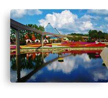 Epcot wonderland Canvas Print
