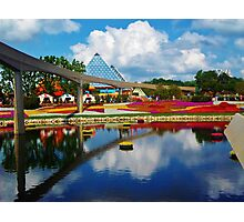 Epcot wonderland Photographic Print