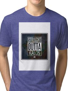 Pokemon - Kalos Region Tri-blend T-Shirt