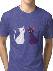 Artemis and Luna Tri-blend T-Shirt