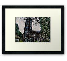 St Andrews Church, Curry Rivel, Somerset Framed Print