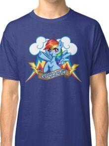 Rainbow Dash: Loyalty Classic T-Shirt