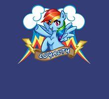Rainbow Dash: Loyalty Unisex T-Shirt