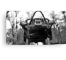 Jeep. Canvas Print