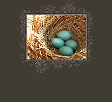 Four American Robin Eggs Womens Fitted T-Shirt