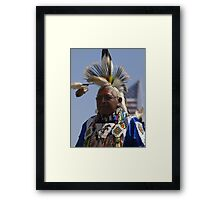 Strength #3 Native American Culture Lives On Framed Print