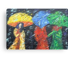 Rainy Day in the Burg Canvas Print