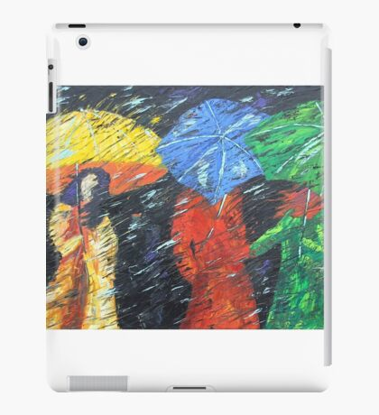 Rainy Day in the Burg iPad Case/Skin