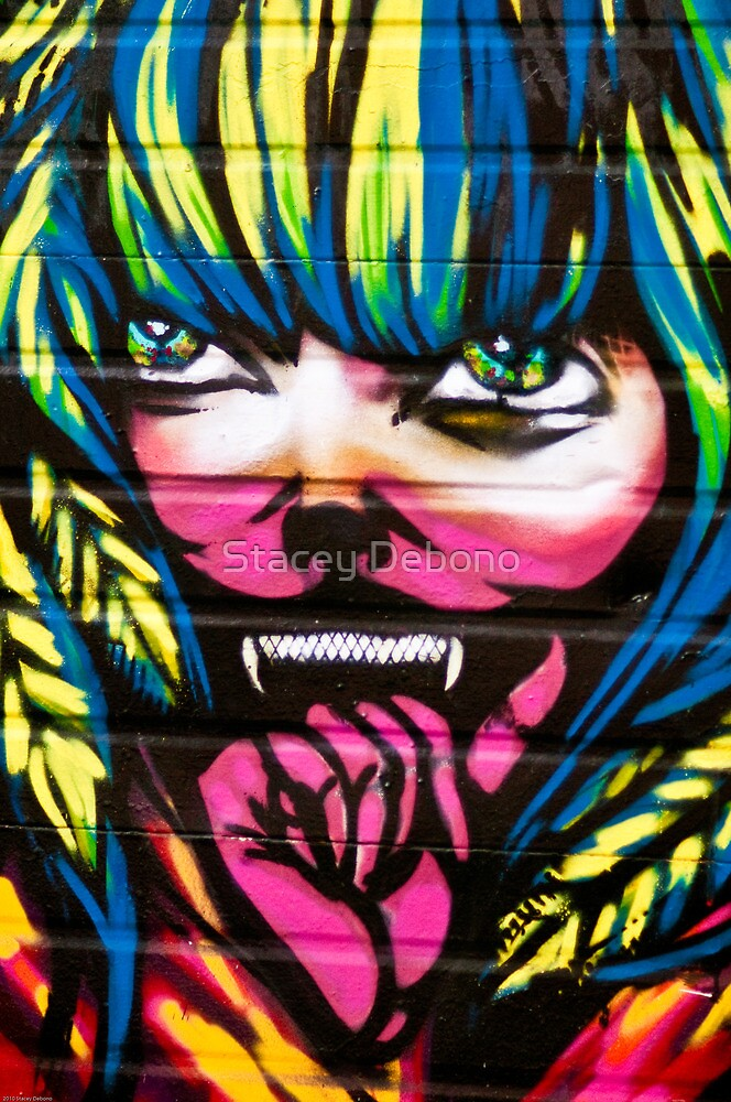 Graffiti Girl by Stacey Debono