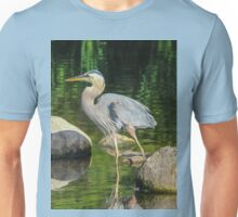 Blue Heron Reflections Unisex T-Shirt
